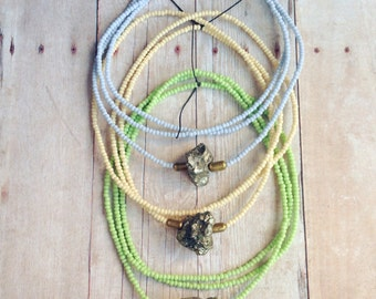 Pyrite Fool's Gold Necklace