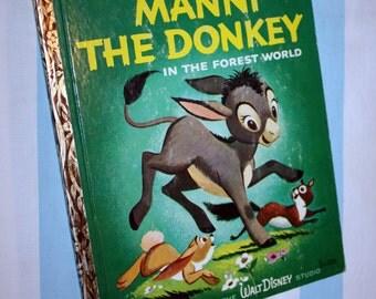 Manni The Donkey, 1959 Little Golden Book