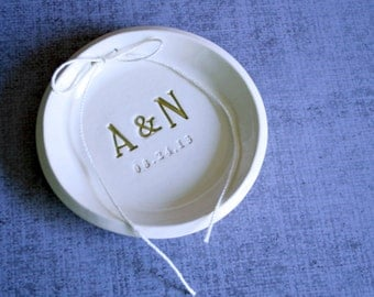 Ring Bearer Bowl - Personalized - Gift Bagged & Ready to Give