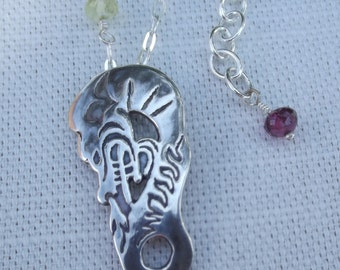 Guardian dragon necklace