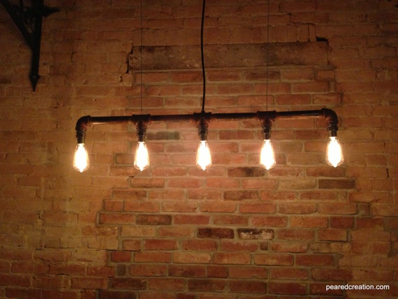 industrial lighting chandelier steampunk furniture edison bulb. Black Bedroom Furniture Sets. Home Design Ideas