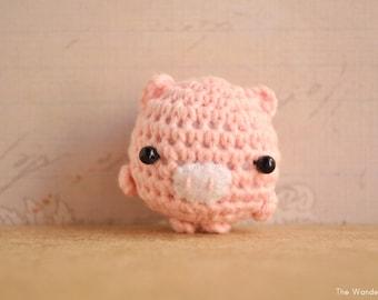 Kawaii Amigurumi Cupcake Keychain : Items similar to Mouse kawaii charm, amigurumi keychain ...