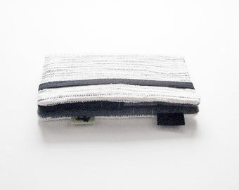 White Birch iPhone 6 Wallet - Modern iPhone Wallet, White Grey iPhone Clutch iphone 5 cell phone wallet phone accessory case womens wallet