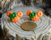 Halloween pumpkin Minnie Mouse Inspired Studs