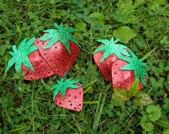 Strawberry Pasties Burlesque Lingerie Accessories