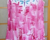 Hawaiian Dress - Womens Sundress - Plus Size Dress - Hawaii Clothing - Resort Wear - Hawaiian - Plus Size Sun Dress - Cotton Cover Up