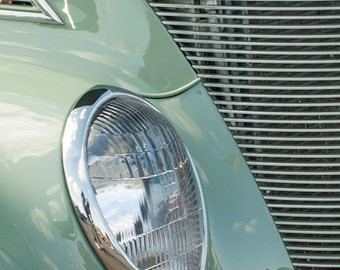Green Vintage Car -- Fine Art  Photography Print -- Photo, Home Decor, Vintage Car, Automobile, Art