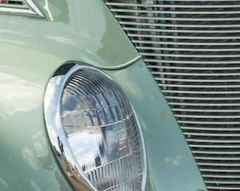 Green Vintage Car -- Fine Art  Photography Print -- Photo, Home Decor, Vintage Car, Automobile, Art