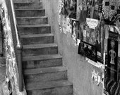 Seattle Stairs, 5x7 Fine Art Photography, Black and White Photography - CindiRessler
