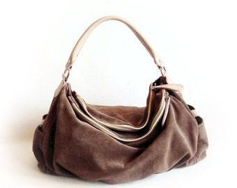 Brown Hobo Shoulder Bag 33