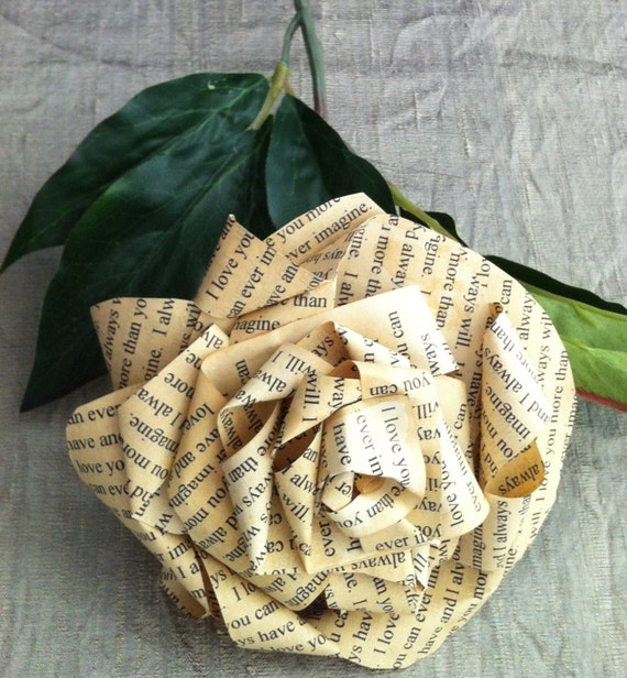 For Your Special Day, A Special Flower - Personalized Vow Rose