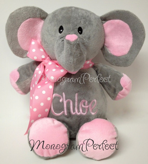 Personalized 16 Plush Elephant Stuffed Animal