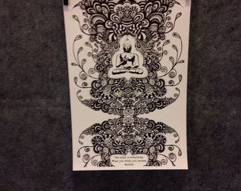 11x17 buddha poster with saying