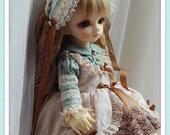 Summer Tea Dress Set( 5 items)  For YOSD