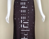 Earthrise Maxi Dress - Moon and Space NASA Dress - Alien Code - Astronomy - Astronaut Galaxy Dress