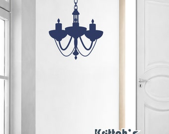 Chandelier Vinyl Wall Decal (23 x 30 inches) CH06
