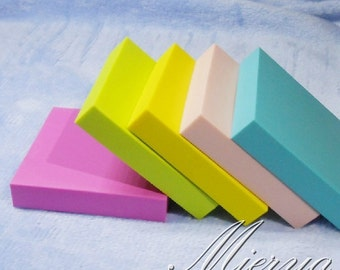 Square Rubber - DIY Rubber Stamp - Stamp Rubber - 5cm - 5 Colors can choose