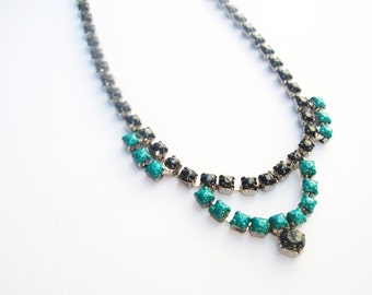 T A M M Y Teal Necklace