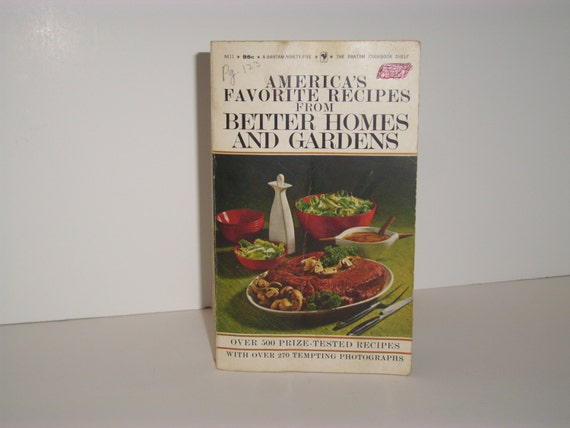 Vintage Better Homes And Gardens Cookbook America 39 S