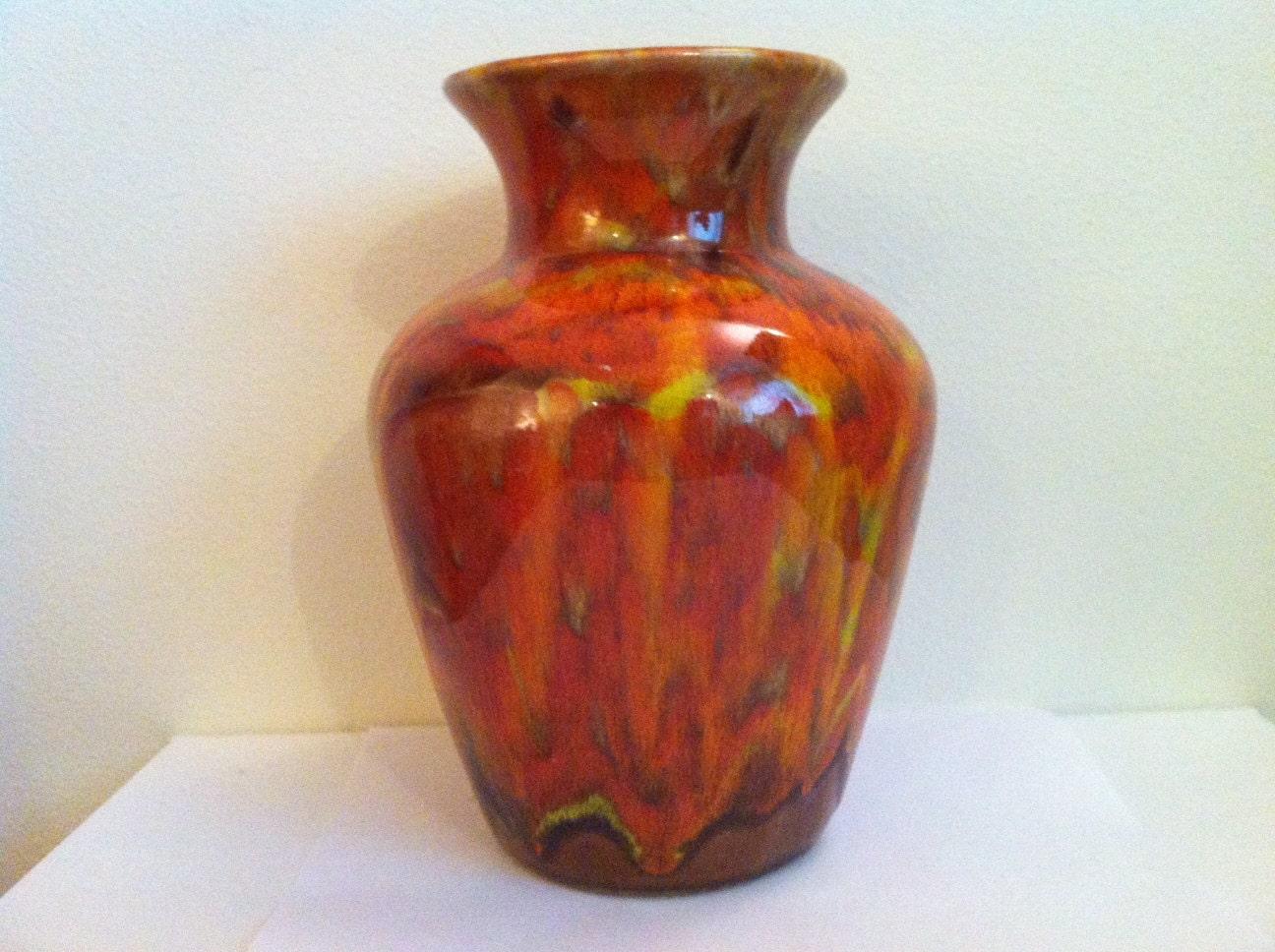 Vintage Art Pottery California Pottery Vase California