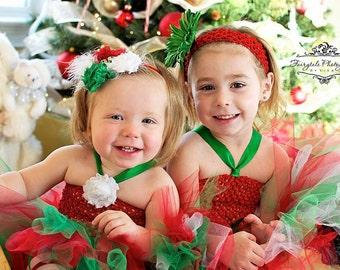 Christmas Tutu Dress, Holiday Tutu Dress, Christmas Tutu Dress, Christmas Portrait, Flower Girl Dress, Toddler Tutu Dress, My Precious Tutu
