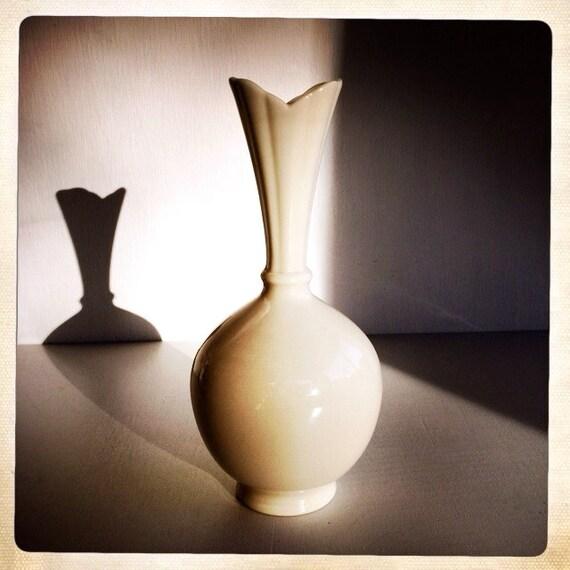 vintage lenox bud vase bone white art deco USPS Logo usps priority mail logo
