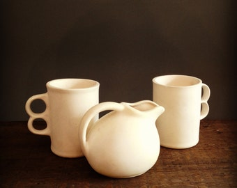 Beautiful White Pottery