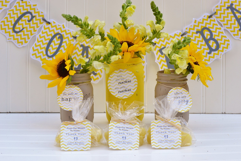 baby shower favor sunshine kit baby shower centerpiece