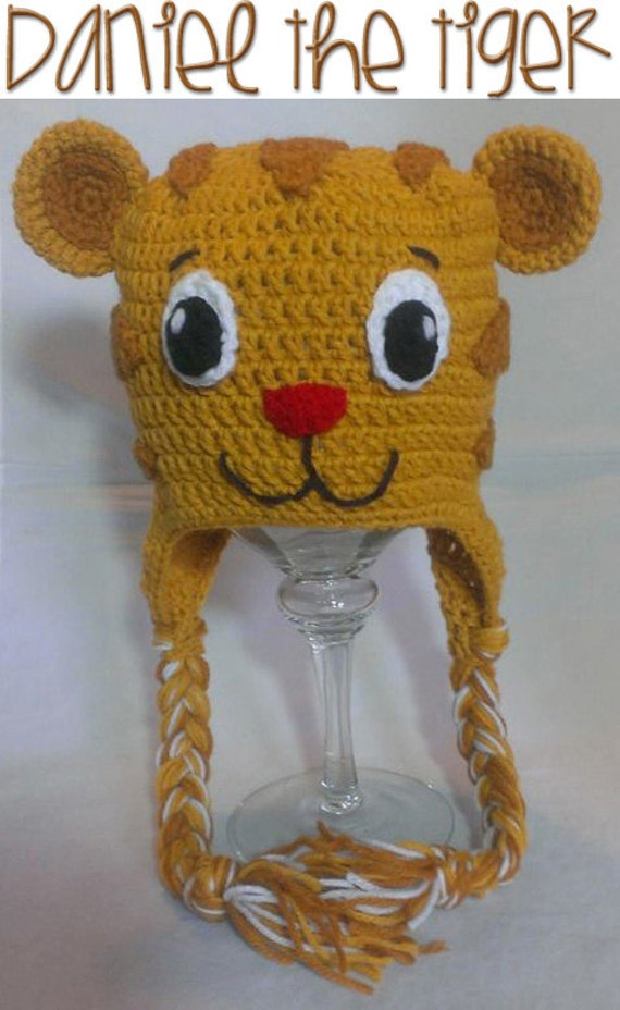 Daniel the Tiger INSPIRED Crochet PATTERN INSTANT Download