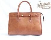 Brown Leather Bag, Large Leather Bag, Brown Tote Bag, Shoulder Bag, Large Leather Tote, Leather Handbag, Leather Shoulder Bag,