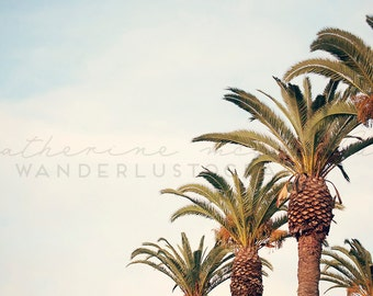 Some place sunny & warm - Photographic Print - California, L.A., Cali, Socal, Los Angeles, Pastel, Film, Decor, Wall, Hanging, Landscape