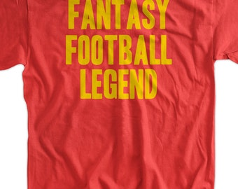 Fantasy Football Legend gifts for dad Tshirt T-Shirt Tee Shirt Mens Womens Ladies Youth Kids Sports Sunday Night Football Geek Funny
