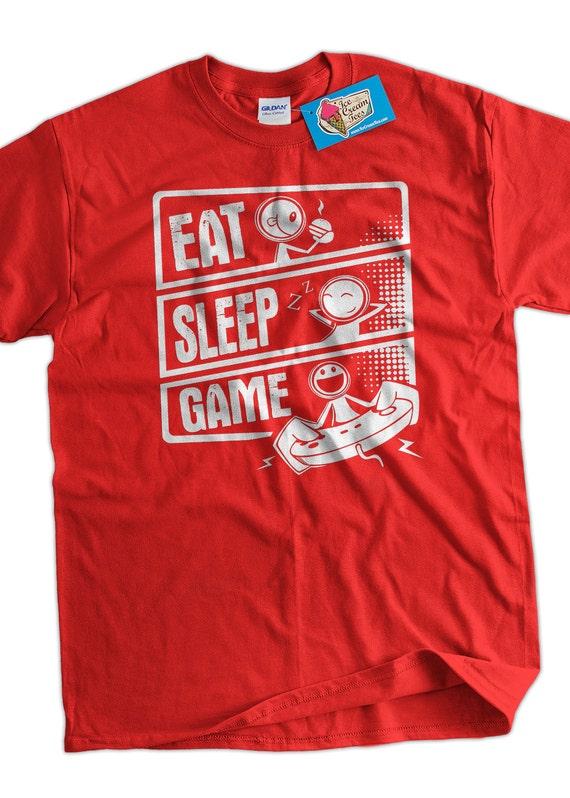 Video Game T-Shirt Gaming T-Shirt Eat Sleep Game V3 T-Shirt