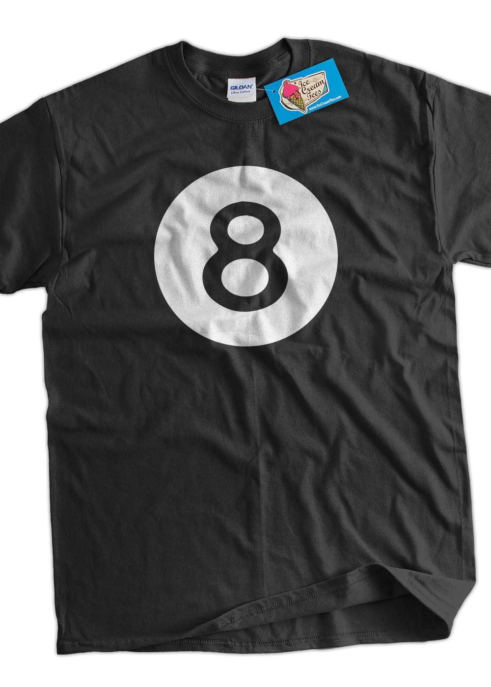 Funny 8 Ball T Shirt Magic Eight Ball Billiards Pool League