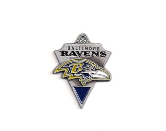 NFL Charm: Baltimore Ravens Pendant, 29x23mm, Football Charm, Sports Charms, Ravens Charm , Ravens Pendant, Ravens Fan, NFL000