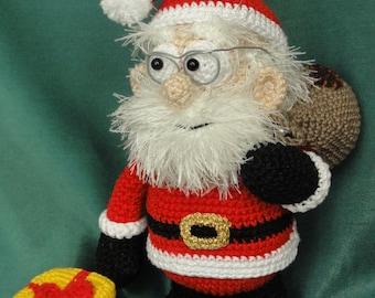 Amigurumi Crochet Pattern - Santa Claus