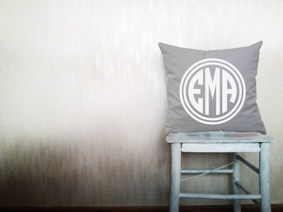 Christmas Pillow Monogrammed Pillows Monogram By