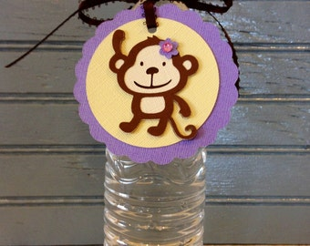 Monkey Treat Tags (set of 12)