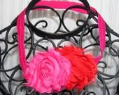 Girls Shabby Chic Valentine's Day Headband