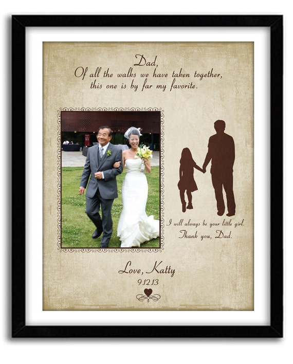 Wedding Gifts For Fathers: Father Of The Bride Gift Thank You Wedding Gift Of All The