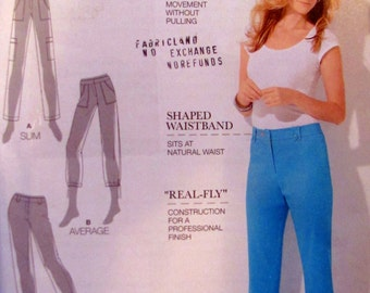 Simplicity 1918, Amazing Fit Pants in 2 Lengths, Sewing Pattern, Sizes 6 to 14