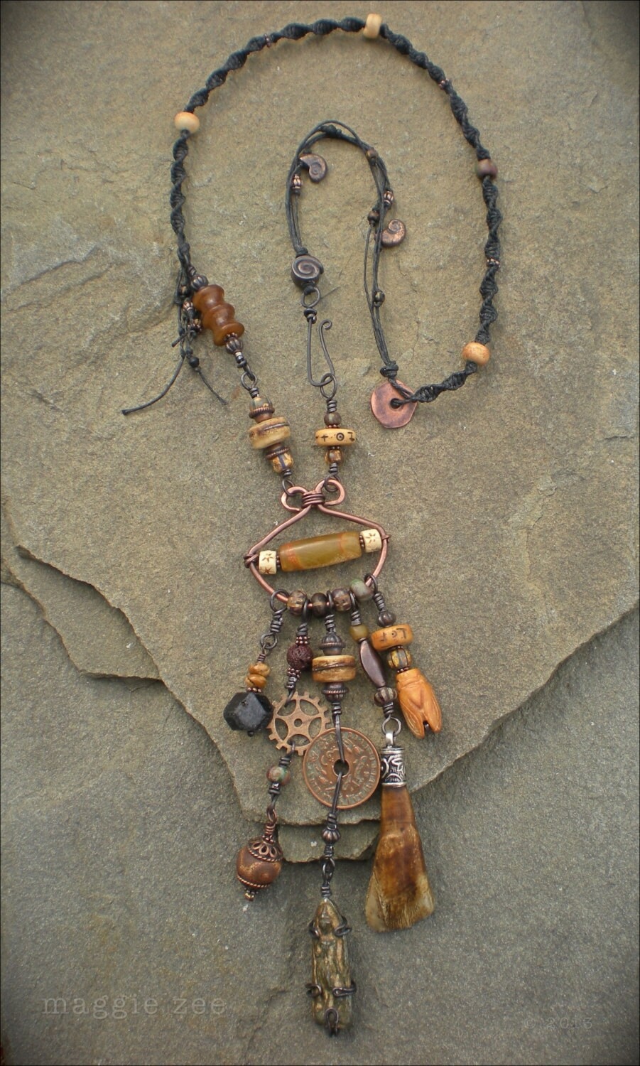 Amulet Jewelry Pendants Sothon: RESERVED FOR TRILLEE A Prayer For The North Earth Amulet