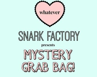 Snark Factory's Pastel Goth, Soft Grunge, and Kawaii MYSTERY GRAB BAG! - A sneaky way to get awesome jewelry at rock bottom prices!