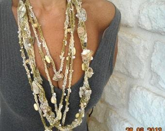 Sea Treasure Necklace Collana ' Tresori del Mare'