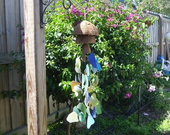 Sea Glass Wind Chime # 140