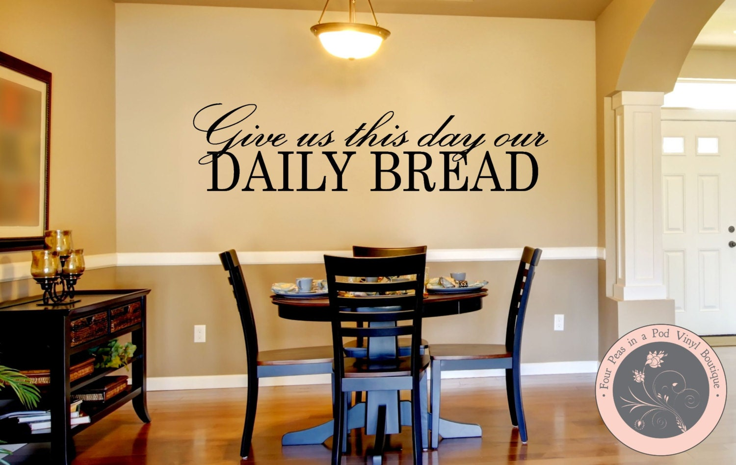 Kitchen decor kitchen wall decal christian wall decal zoom amipublicfo Choice Image