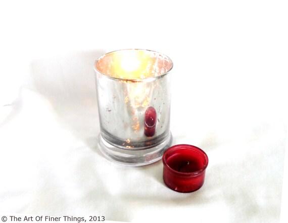 items similar to new 4 bulk rocks glass candle holders antique mercury glass candleholder. Black Bedroom Furniture Sets. Home Design Ideas