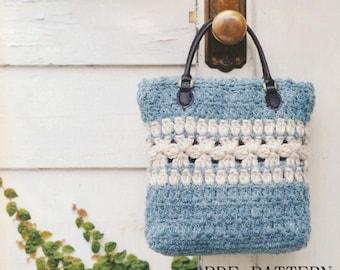 download PDF Pattern,bag pattern,crochet pattern,tote pattern