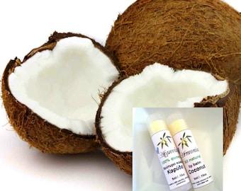 Natural Organic Coconut Lip Balm, All Natural Products