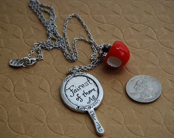 Snow White Inspired Necklace